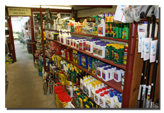 sprays, growing agents and fertilizers, hard to find products for bugs and disease